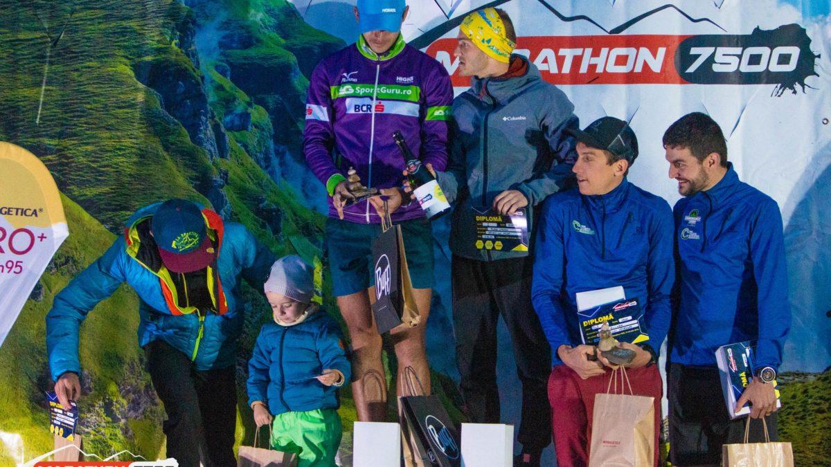 Marathon 7500 podium 2019